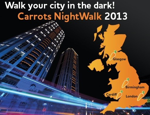 Walk your city in the dark